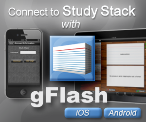 Connect StudyStack with gFlash